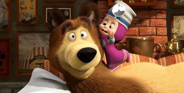 16 серия. Будьте здоровы! Маша и Медведь смотреть онлайн