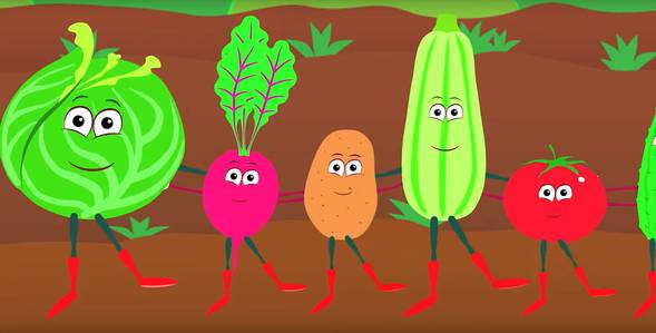13 серия. Овощи Синий трактор смотреть онлайн