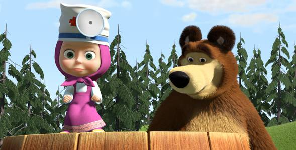 5 серия. С волками жить... Маша и Медведь смотреть онлайн