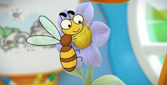 10 серия. Пчела Каракули смотреть онлайн
