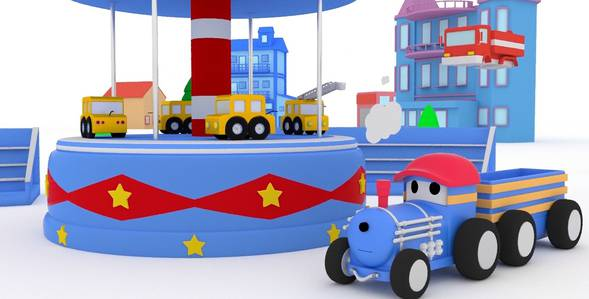 2 серия. Пожарная машина Поезд по имени Тед смотреть онлайн