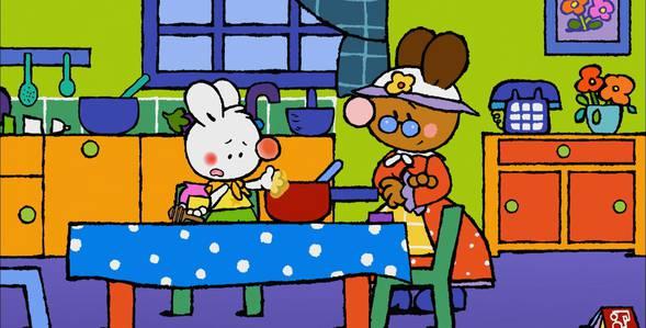 44 серия. Как я впервые сварил варенье Крошка Крольчонок смотреть онлайн