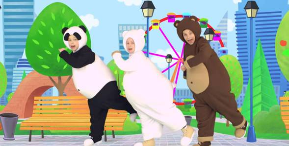 1 серия. Три весёлых мишки Три медведя смотреть онлайн