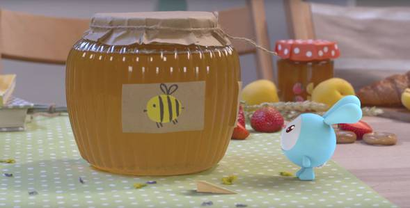 Серия 45. Пчёлка Малышарики смотреть онлайн