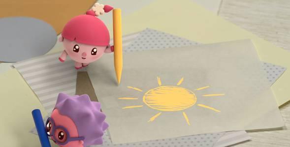 Серия 8. Солнышко Малышарики смотреть онлайн