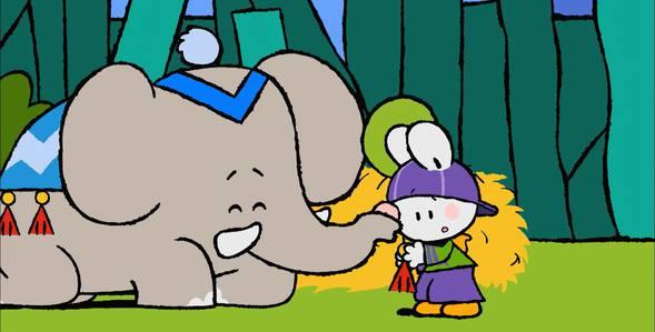 22 серия. Как я впервые катался на слоне Крошка Крольчонок смотреть онлайн