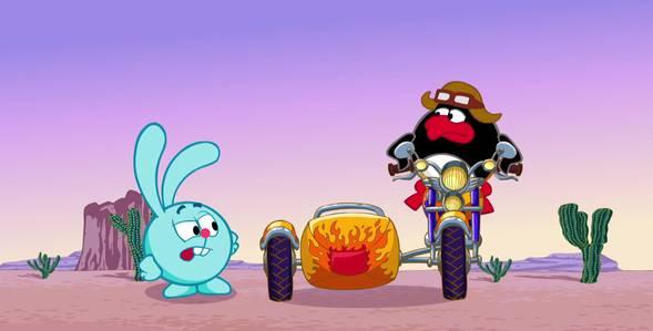 Серия 24. Мотоциклетные правила Смешарики: Азбука безопасности смотреть онлайн
