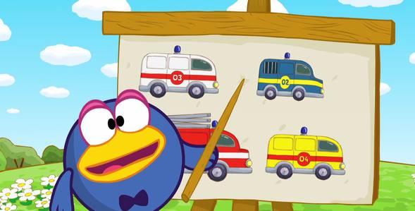 Серия 32. Автомобили специального назначения Смешарики: Азбука безопасности смотреть онлайн