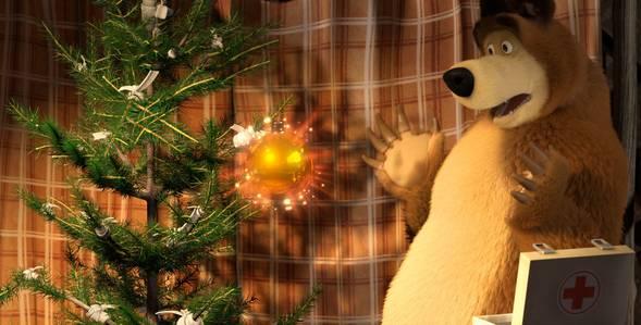 21 серия. Один дома Маша и Медведь смотреть онлайн