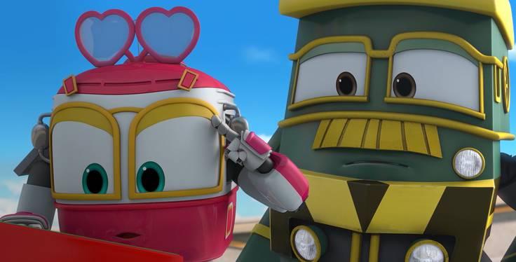 Роботы-поезда. Трейлер