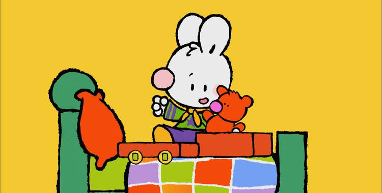 19 серия. Как я впервые ходил в парк развлечений для больших детей Крошка Крольчонок смотреть онлайн