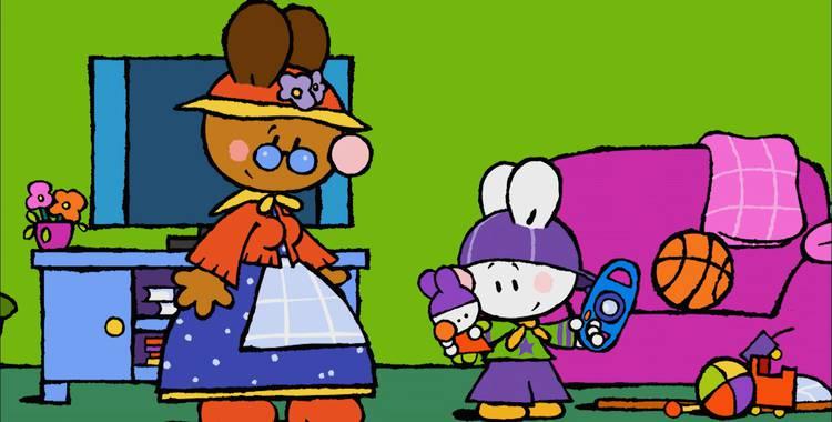 32 серия. Моя первая размытая фотография Крошка Крольчонок смотреть онлайн