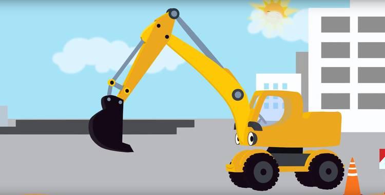 14 серия. Экскаватор Синий трактор смотреть онлайн