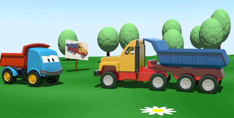 Серия 8. Большой грузовик Грузовичок Лёва смотреть онлайн