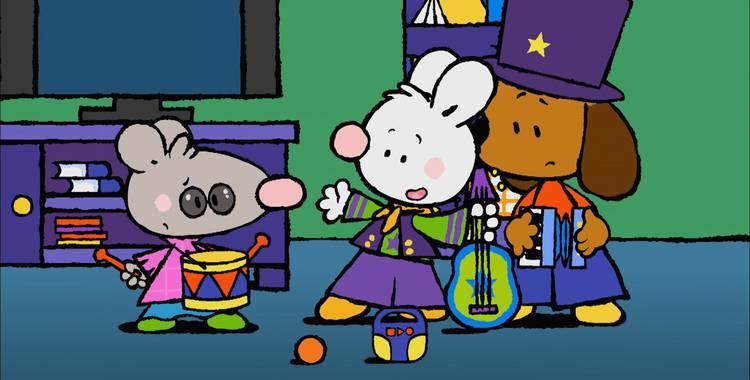 45 серия. Моё первое выступление в рок-группе Крошка Крольчонок смотреть онлайн