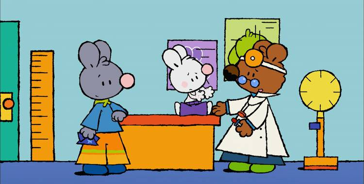 67 серия. Как у меня в первый раз была аллергия Крошка Крольчонок смотреть онлайн
