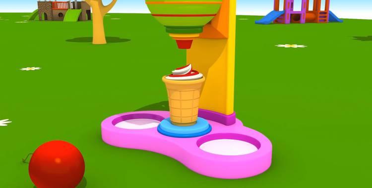 Серия 39. Машина для мороженого Грузовичок Лёва смотреть онлайн