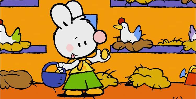 63 серия. Как я в первый раз собирал яйца Крошка Крольчонок смотреть онлайн