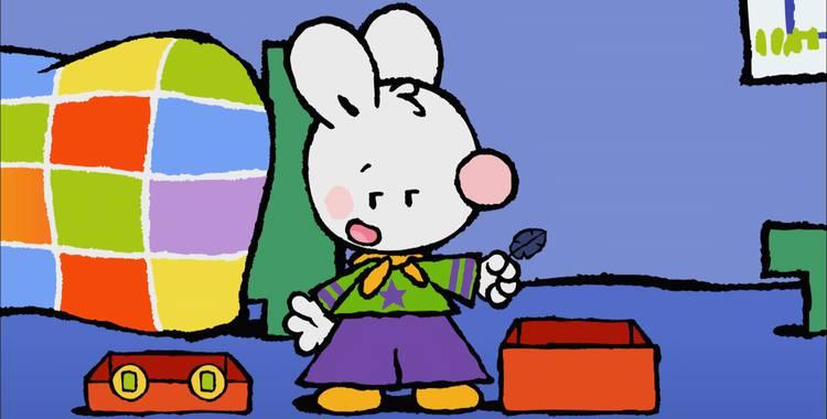 33 серия. Как я хотел увидеть приведение Крошка Крольчонок смотреть онлайн