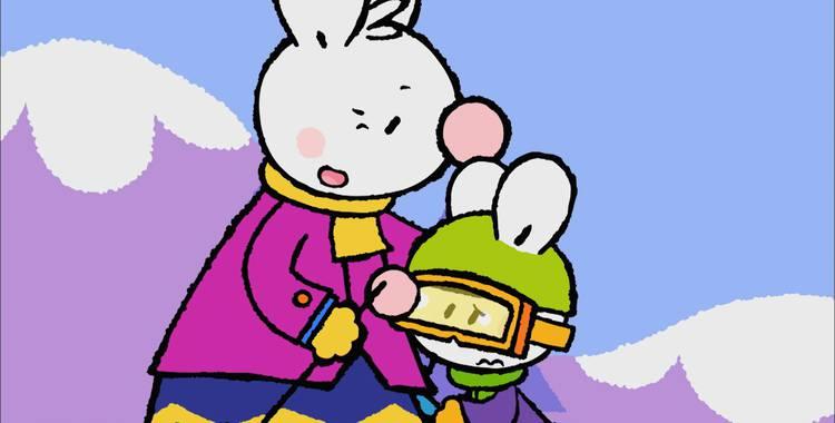 21 серия. Как я впервые катался на лыжах Крошка Крольчонок смотреть онлайн