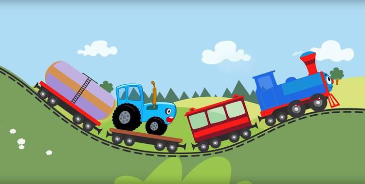 12 серия. Далеко и близко Синий трактор смотреть онлайн