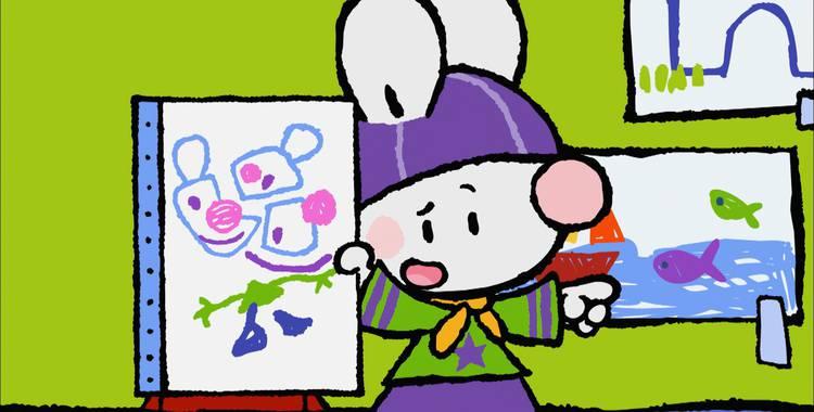 37 серия. Как я впервые рисовал автопортрет Крошка Крольчонок смотреть онлайн